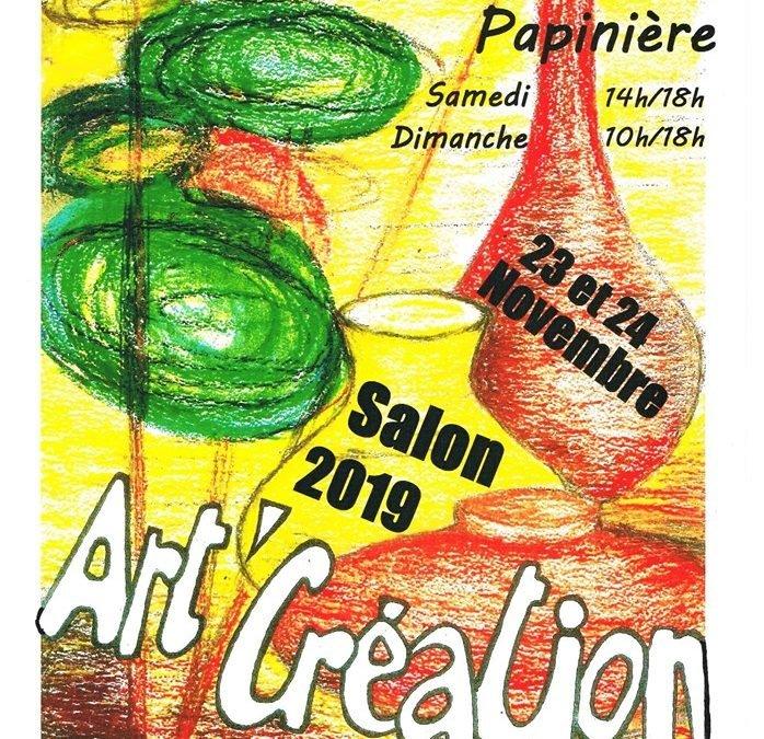 Salon Art'Création à Sucé!